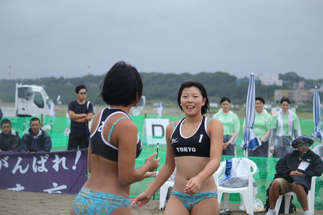 ビーチ バレー 女子