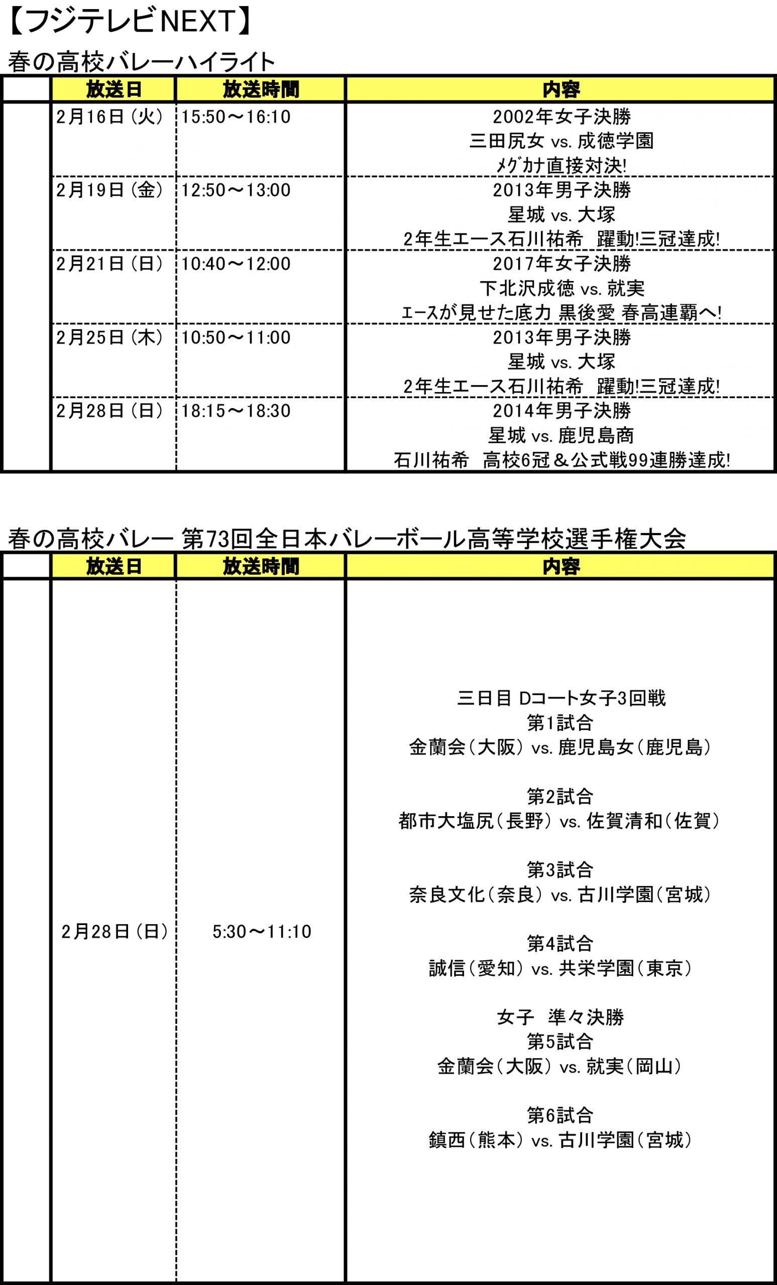 鹿児島 表 テレビ 番組 週間番組表