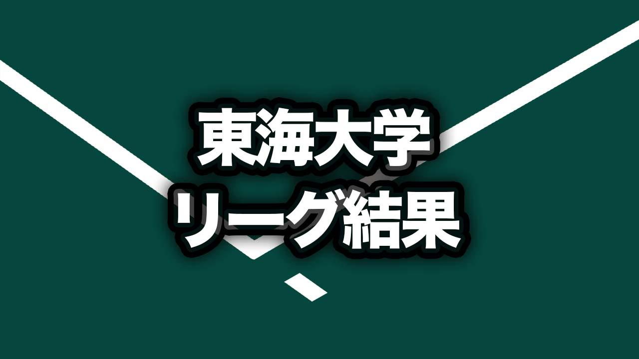 秋季東海大学女子1部リーグ戦の1日目・2日目試合結果