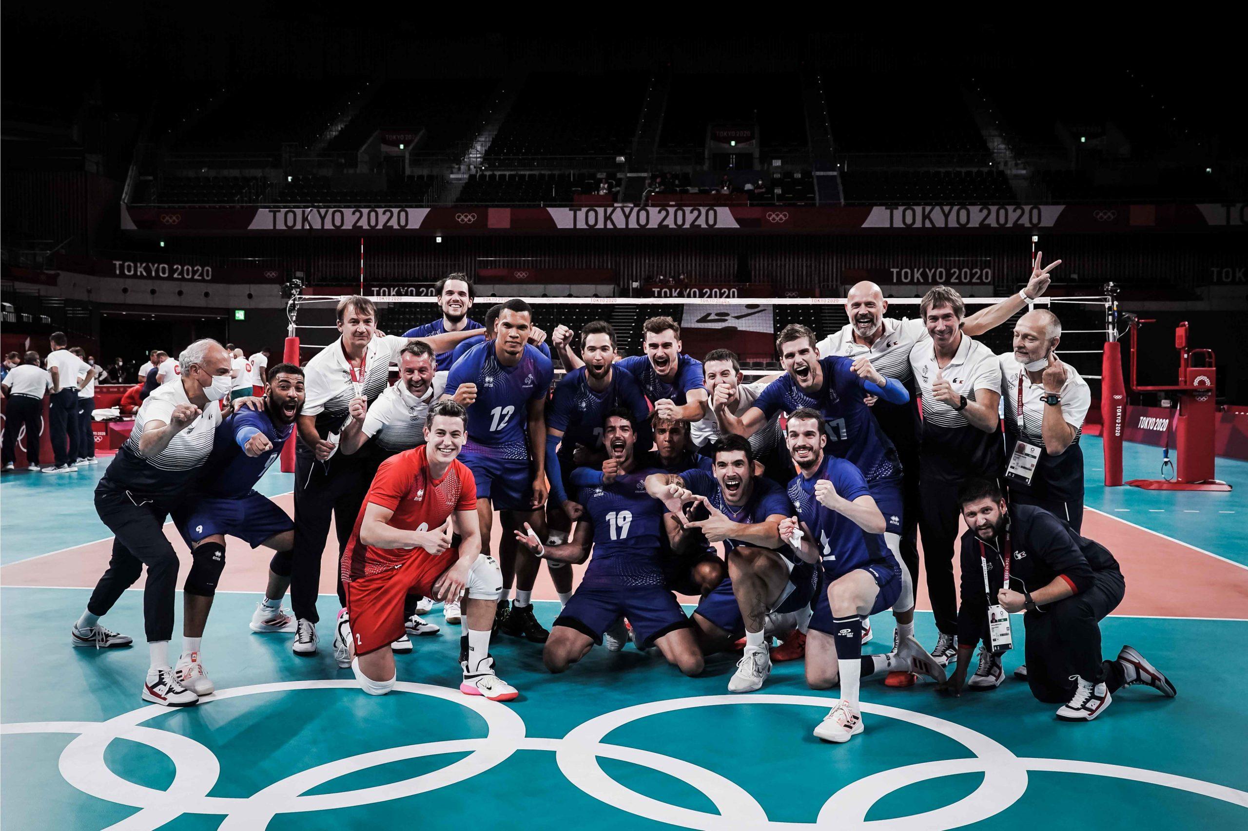 東京2020オリンピック 男子準々決勝 ブラジルなどが準決勝進出