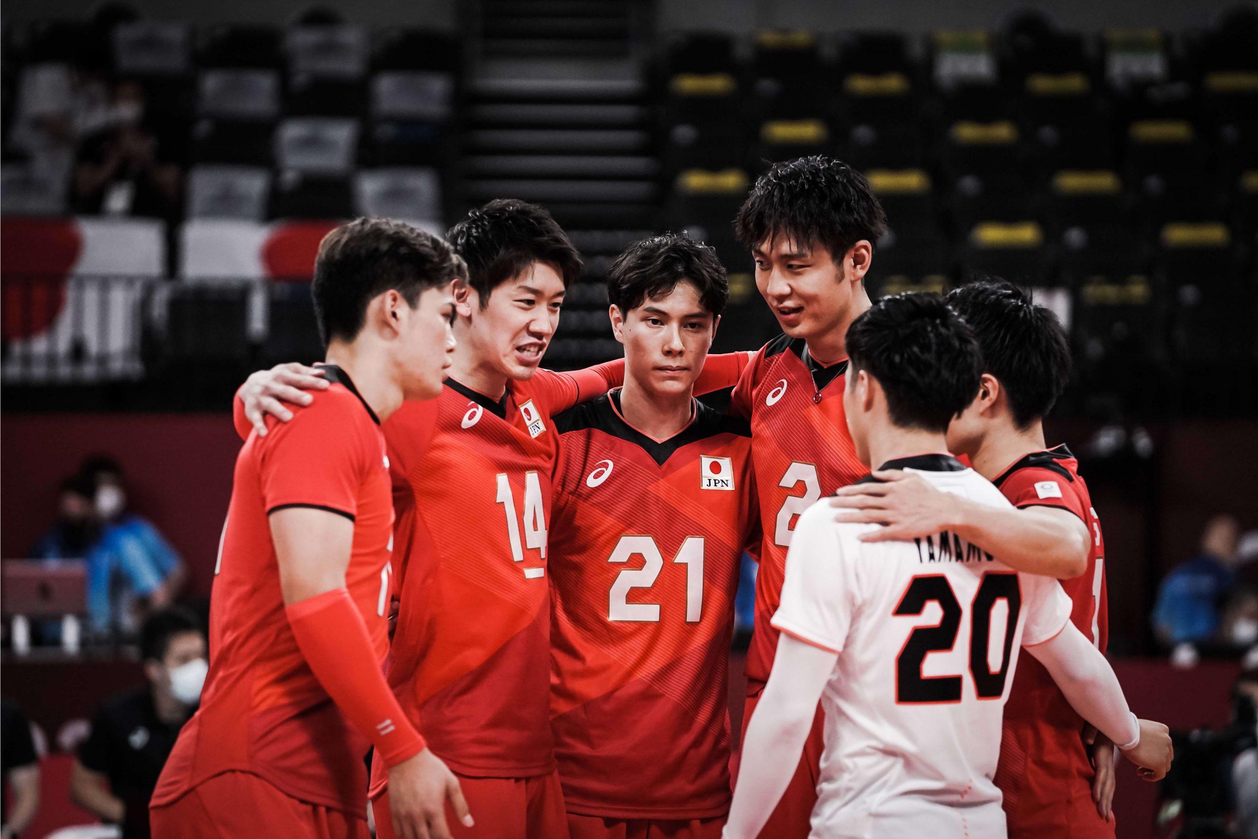 日本男子 準々決勝ストレートで敗退 善戦するも王者ブラジルに涙
